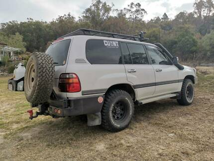 1998 Toyota LandCruiser 105 series Stanthorpe Southern Downs Preview
