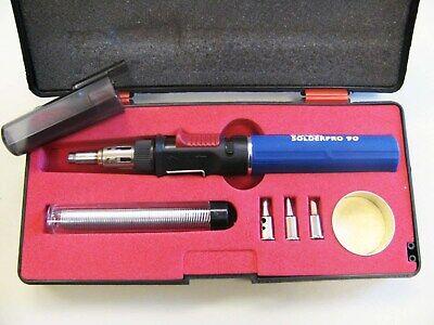 Iso-tip Pro 90 Butane Soldering Iron Torch Kit Model 9010