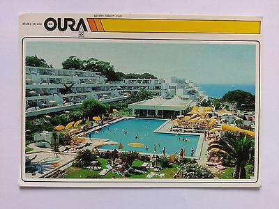 Algarve Portugal Vintage colour Postcard 1994 Clube Praia da Oura