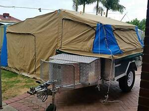 Off road camper trailer as new galvanised, never used Glenelg East Holdfast Bay Preview