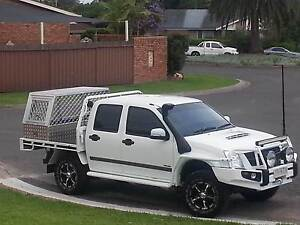 2008 Holden Rodeo Ute dualcab Turbo Diesel 4x4 Drop side tray Sydney City Inner Sydney Preview