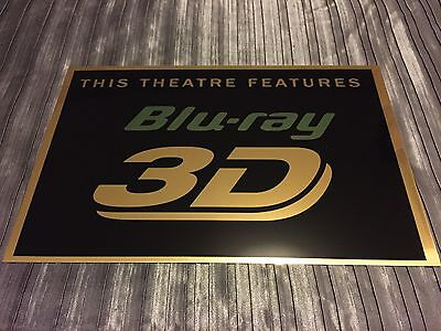 Bluray 3D Cinema Sign