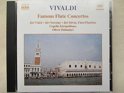 Vivaldi: Famous Flute Concertos - Valek, Novotny, Stivin - Oliver Dohnanyi - CD