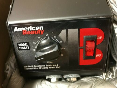 American Beauty Resistance Soldering Power Unit model105A12 - New In Box