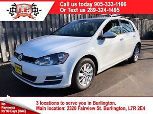2015 Volkswagen Golf Treadline, Manual, Bluetooth, Diesel,