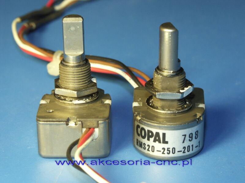 Rotary Encoder COPAL  RMS20-250-201-1   corresponding to Yaesu Q9000833