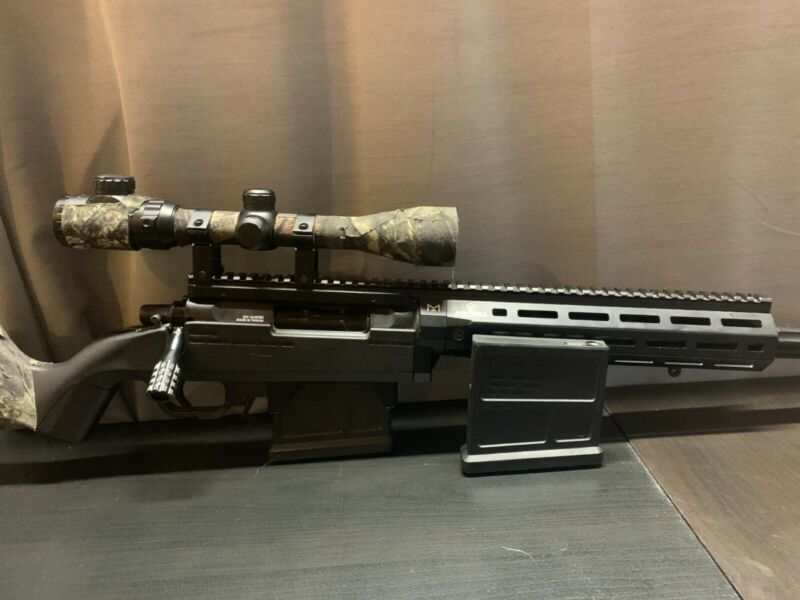 Ares Amoeba Striker Airsoft Sniper Rifle w/ Scope & Two Midcap Magazines 1.45 J