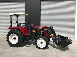 Tannertrack TT604 60hp Tractor with Front end Loader   Rear Down Force Pakenham Cardinia Area Preview