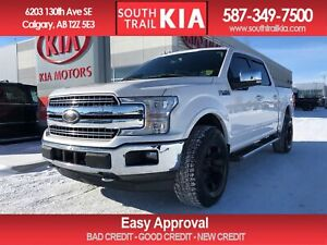 2018 Ford F-150 LARIAT, LEATHER SEATS, NAVIGATION, HEATED SEATS,
