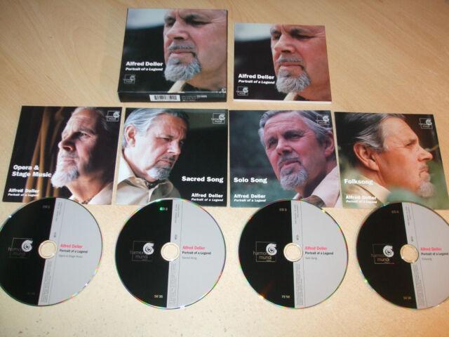 Alfred Deller - Portrait of a Legend (4 CD Set) Mint Condition - Fast Postage