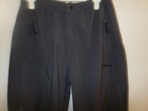Trr FASHION Charcoal Hiking Outdoor Pants Mens Size 30-32 X 30 Nylon/Spandex NWT
