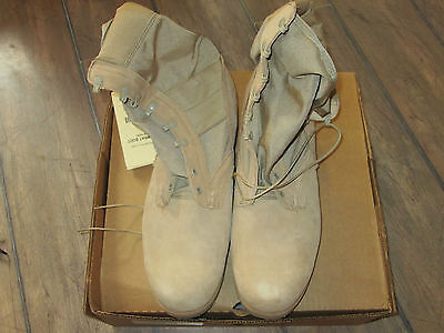 US Army Desert Combat Boots NEU Army Vibram Sohle Size 15,5 XW Gr. 51 Stiefel   Desert Combat Boots