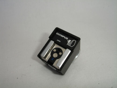 Olympus T20 TTL Auto Off Camera Flash Shoe Cable Connector Adapter w. attachment