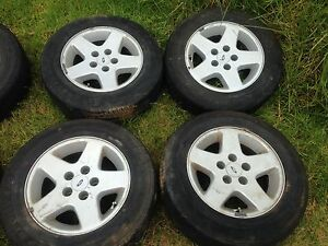 X4 Ford 15 inch mags 70% tread Bayswater Knox Area Preview