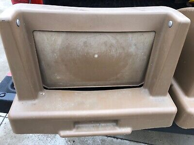 Commercial Trash Recepticle Lid-fast Food By Wausau Tile Used