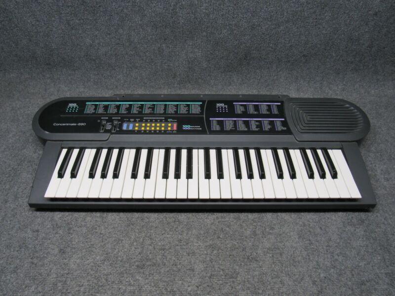 Radioshack Optimus Concertmate-690 Musical Keyboard *Tested Working*