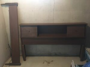 Double Bed Headboard and Footboard