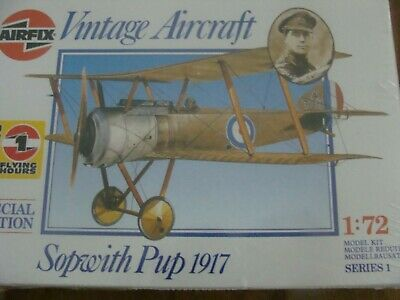 AIRFIX Modellbausatz 01082: Sopwith Pup 1917 SPECIAL EDITION im Maß 1:72