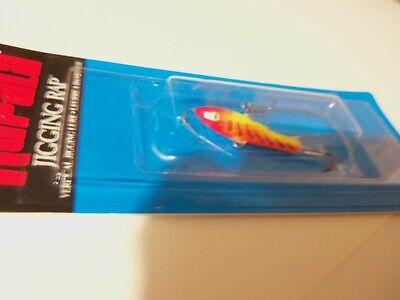 "Rapala Jigging Rap 02 W2-CHB Chrome Blue 1 1//4/"" 1//8 oz Ice Fishing Lure"