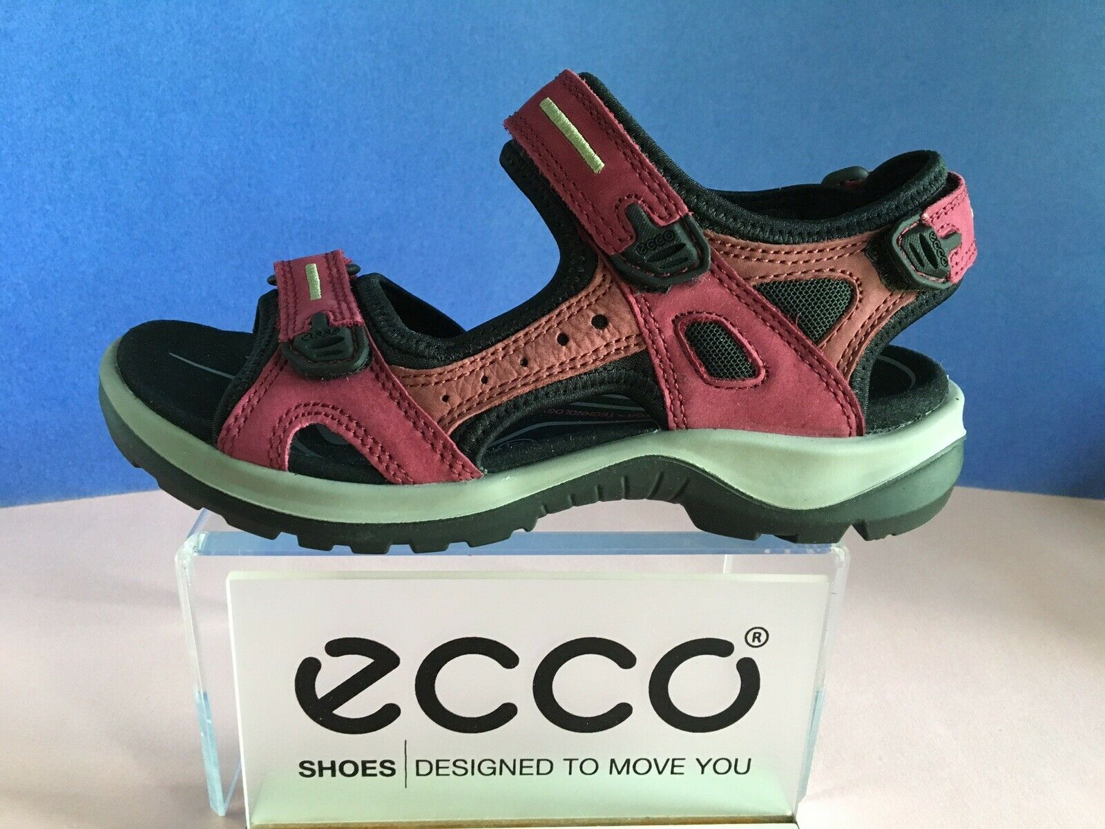 ECCO Women's Yucatan Sandal 69563, Select Size/Color, New, First Quality