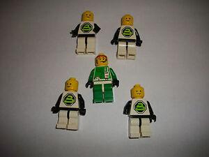 LEGO RARE RETRO VINTAGE CLASSIC SPACE POLICE FIGURES BLACKTRON 5 PIECES