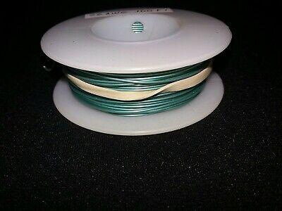 26 Awg Solid Kynar Wire Ul1423 Green 100 Ft Spool