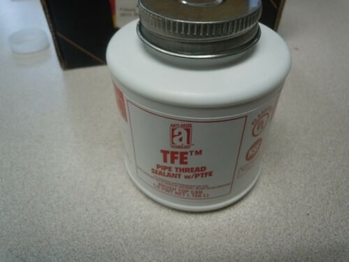 Anti-Seize 14005 Teflon Pipe Thread Sealant w/PTFE 1/4 Pint Can Brush 140ER05