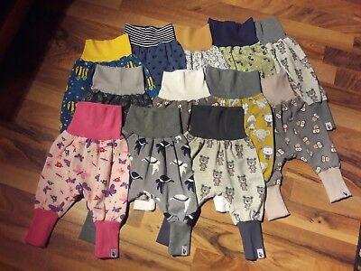 MamiAktiv 62 - 74 Baby Pumphose Babyhose Mitwachshose Jogginghose Jungen Mädchen ()