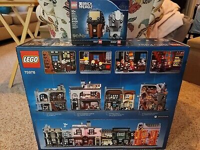 Lego Diagon Alley & Hagrid and Buckbeak *Brand New* 75978 and 40412
