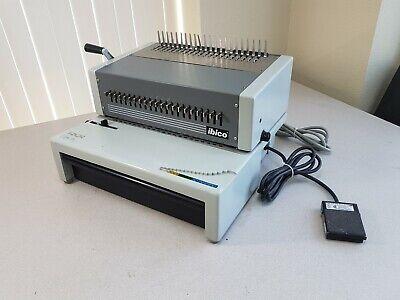 Ibico Epk-21 Commercial Plastic Comb Electric Binding Machine