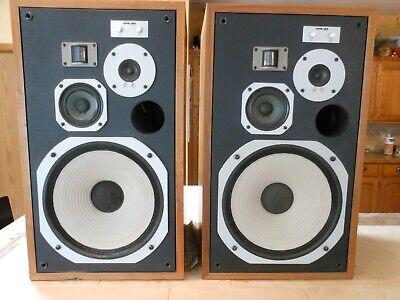 Pioneer HPM-100 100 Watt 4-Way Speaker - Pair.  Tested/Working.