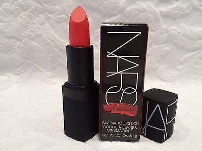Nars-Guy Bourdin Cinematic Full-Sized Lipstick - #9601 Short Circuit -0.1 Oz-NIB