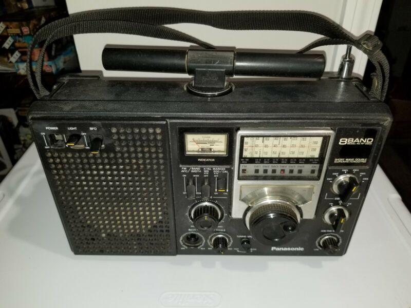 Vtg Panasonic RF2200 8 Band Short Wave Double Superheterodyne AM FM Radio-Works