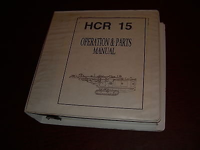 Furukawa Rock Drill Operation Manual Hcr 16 Series Repair Parts
