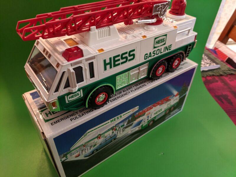 HESS GASOLINE- 1996 EMERGENCY TRUCK- NEW in BOX