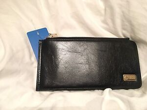 Faux Leather Designer Wallet