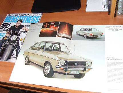 FORD ESCORT SHOWROOM CATALOGUE Joondalup Joondalup Area Preview