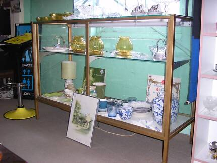 Glass display cabinet Surf Coast Preview