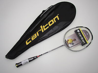@ Carlton Badmintonschläger Powerblade S-Lite  EUVP 129,95 silber Fullcover NEU
