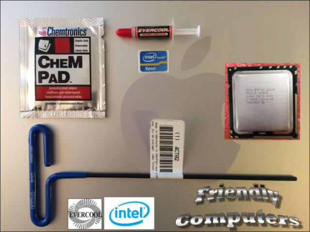 SIX CORE Apple Mac Pro W3680 3.3GHz XEON CPU 2009,2010,2011,2012 4,1 4.1 5,1 5.1