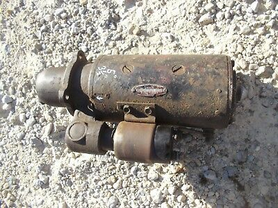 Farmall Ih Ihc Diesel Tractor 12v Good Working Starter Assembly