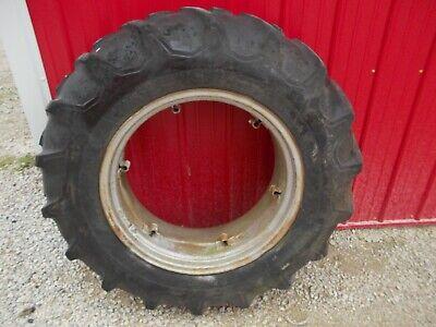 Firestone 14.9 X 28 Rear Tractor Tire 75 Tread Ih 444 414 Tractor Loop Rim