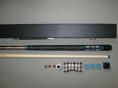 """Billard-Queue """"Ambassador blue"""" Koffer + Zubehör"""