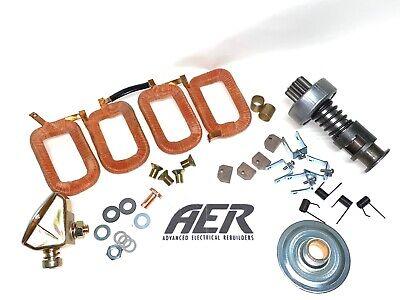 John Deere B 50 520 Delco 1107942 12 Volt Starter Rebuild Repair Kit Field Coils