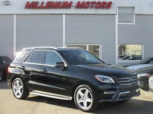 2015 Mercedes-Benz M-Class ML400 4MATIC / NAVI / B.CAM / LEATHER