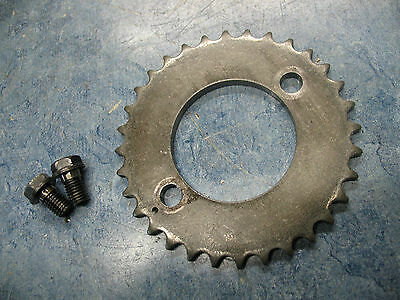 CAM SHAFT TIMING CHAIN GEAR A 1982-1983 YAMAHA XJ650L TURBO SECA XJ 650 L