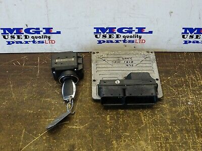 MERCEDES SLK 200 171 1.8L ENGINE ECU & IGNITION+KEY A2710104047-A2115452308 2009