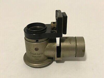 Leitz Ultropak For Ortholuxlaborlux Microscope Metal