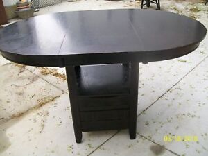 """36 """"HIGH TABLE WITH LEAF"""