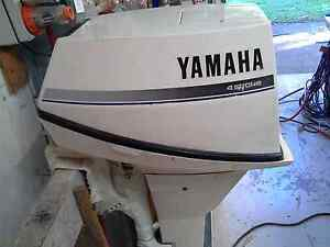 Yamaha 4stroke outboards 9.9 hp high thrust Aspley Brisbane North East Preview